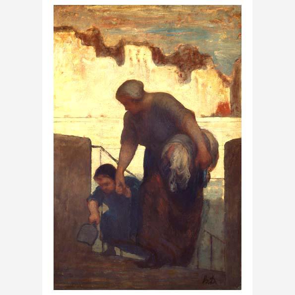 La blanchisseuse (The Washerwoman)