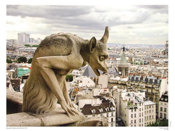 Gargoyle, Notre-Dame de Paris