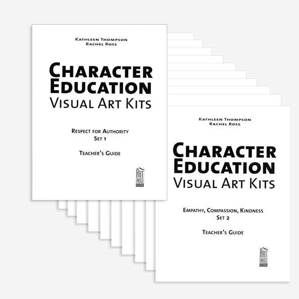 Special Offer – Character Education Visual Art Kits