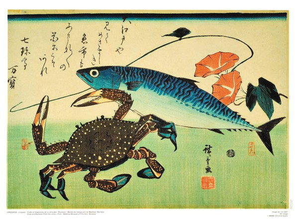 "Crab and Mackerel, from the ""Fishes"" Series"