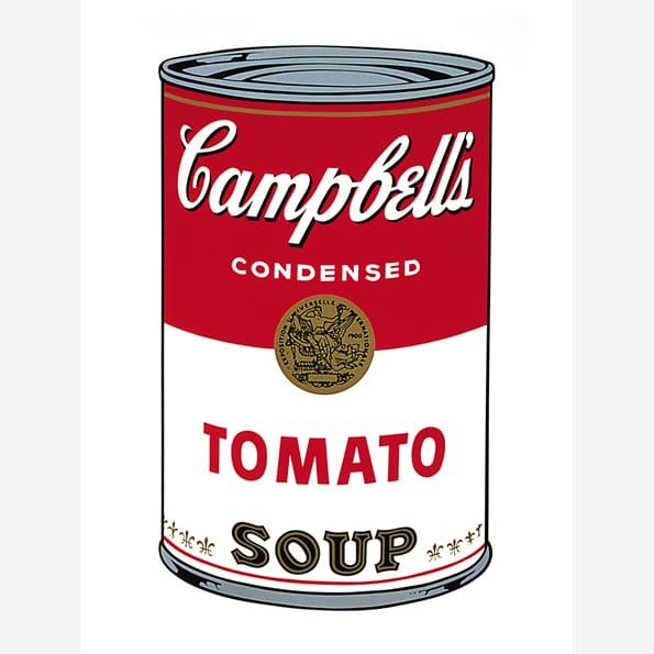 Campbell's Soup I (Tomato)