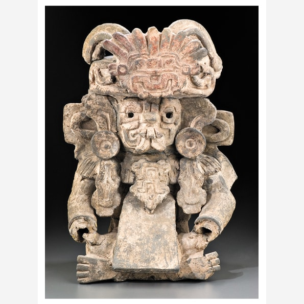 Funerary Urn: Cocijo, the Rain God