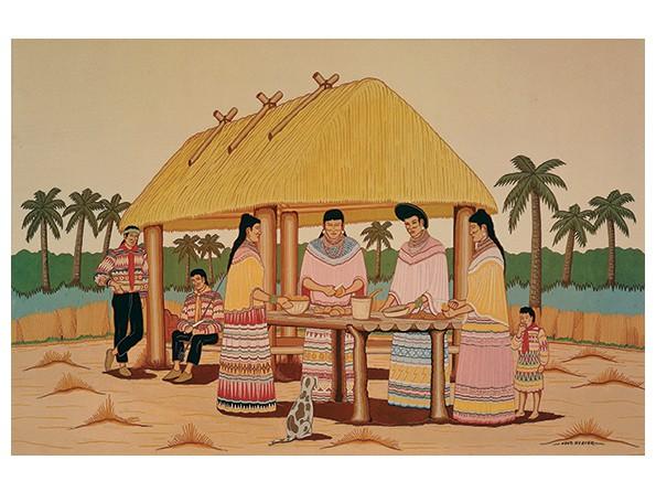 Seminoles Preparing Food