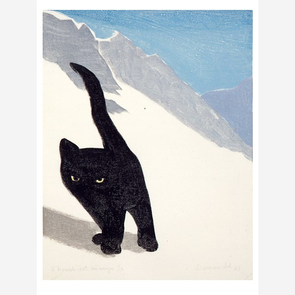 L'Horrible chat des neiges (The Horrible Snow Cat)
