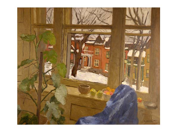 View from the Studio in Winter