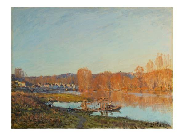 L'automne au bord de la Seine, près de Bougival