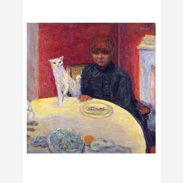 Woman with a Cat (La femme au chat)