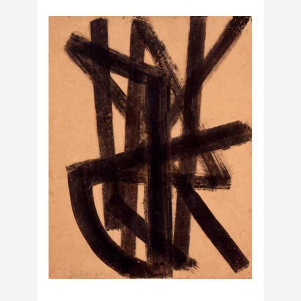 Peinture sur papier 1948-1