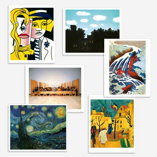 Art Image set of prints grade 6
