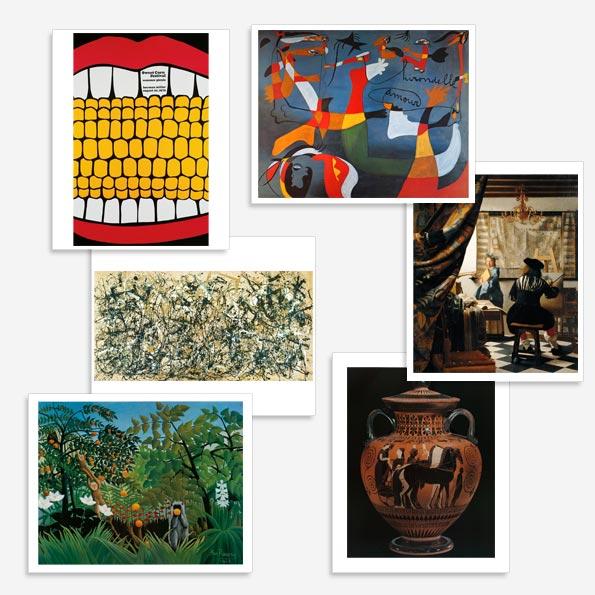 Art Image set of prints grade 3